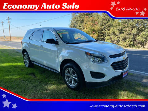 2017 Chevrolet Equinox for sale at Economy Auto Sale in Modesto CA