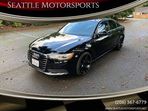 2014 Audi A6 for sale at Seattle Motorsports in Shoreline WA