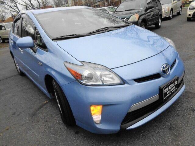 2012 Toyota Prius Plug-in Hybrid for sale at Yosh Motors in Newark NJ