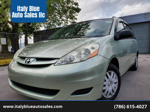 2006 Toyota Sienna for sale at Italy Blue Auto Sales llc in Miami FL