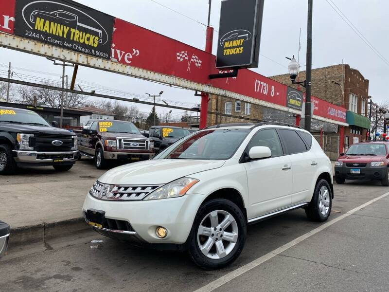2007 Nissan Murano for sale at Manny Trucks in Chicago IL