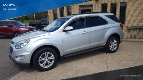 2016 Chevrolet Equinox for sale at CARTIVA in Stillwater MN
