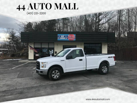 2016 Ford F-150 for sale at 44 Auto Mall in Smithfield RI