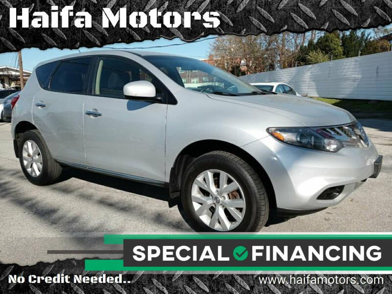 2014 Nissan Murano for sale at Haifa Motors in Philadelphia PA
