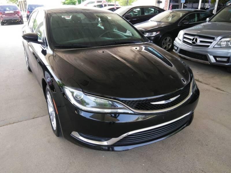 2015 Chrysler 200 for sale at Divine Auto Sales LLC in Omaha NE