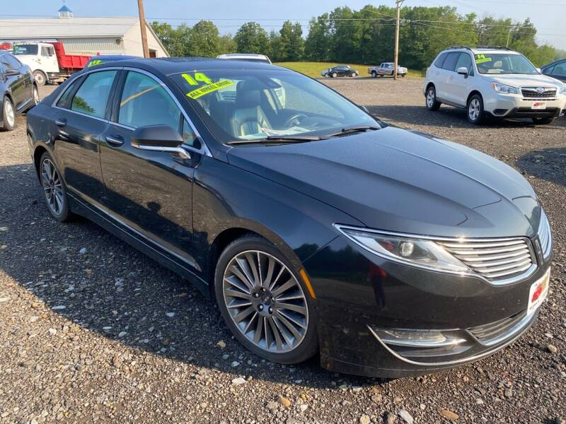 2014 Lincoln MKZ for sale at ALL WHEELS DRIVEN in Wellsboro PA