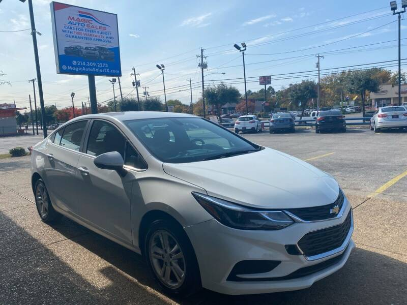 2017 Chevrolet Cruze for sale at Magic Auto Sales in Dallas TX