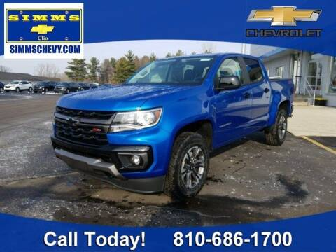 2021 Chevrolet Colorado for sale at Aaron Adams @ Simms Chevrolet in Clio MI