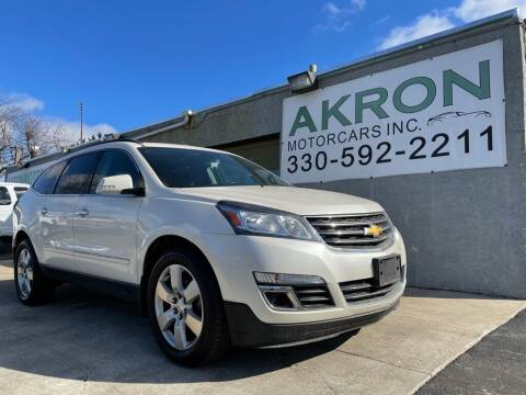 2014 Chevrolet Traverse for sale at Akron Motorcars Inc. in Akron OH