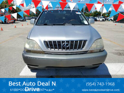 2002 Lexus RX 300 for sale at Best Auto Deal N Drive in Hollywood FL