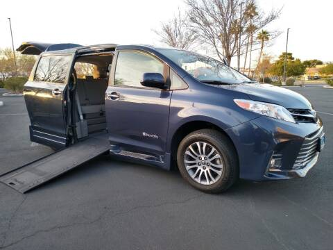 2018 Toyota Sienna for sale at The Auto Center in Las Vegas NV