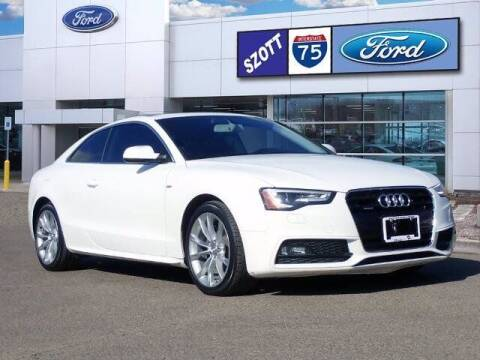 2016 Audi A5 for sale at Szott Ford in Holly MI