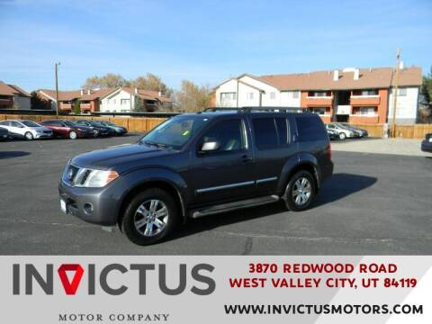 2011 Nissan Pathfinder for sale at INVICTUS MOTOR COMPANY in West Valley City UT