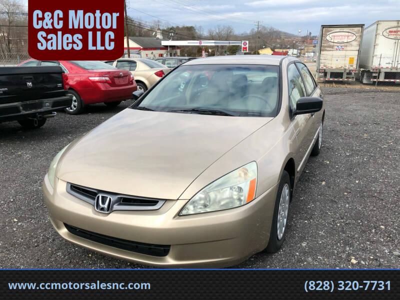 2005 Honda Accord for sale at C&C Motor Sales LLC in Hudson NC
