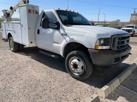 2003 Ford F-550 Super Duty for sale at Samcar Inc. in Albuquerque NM