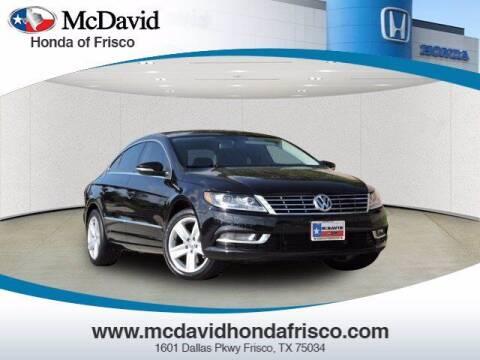 2016 Volkswagen CC for sale at DAVID McDAVID HONDA OF IRVING in Irving TX