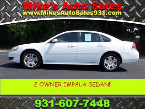 2011 Chevrolet Impala for sale at Mike's Auto Sales in Shelbyville TN