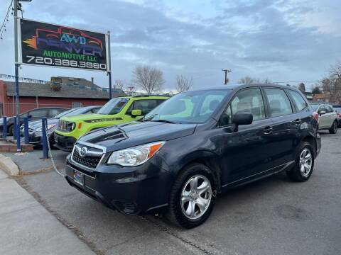 2014 Subaru Forester for sale at AWD Denver Automotive LLC in Englewood CO