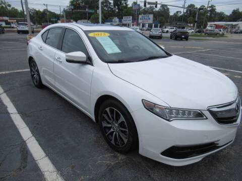 2015 Acura TLX for sale at Maluda Auto Sales in Valdosta GA