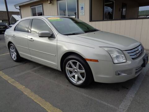 2008 Ford Fusion for sale at BBL Auto Sales in Yakima WA