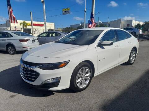 2020 Chevrolet Malibu for sale at Modern Auto Sales in Hollywood FL