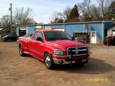 2003 Dodge Ram Pickup 3500 for sale at Tom Boyd Motors in Texarkana TX