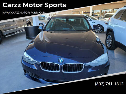 2012 BMW 3 Series for sale at Carzz Motor Sports in Fountain Hills AZ