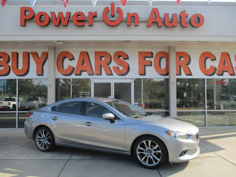 2014 Mazda MAZDA6 for sale at Power On Auto LLC in Monroe NC