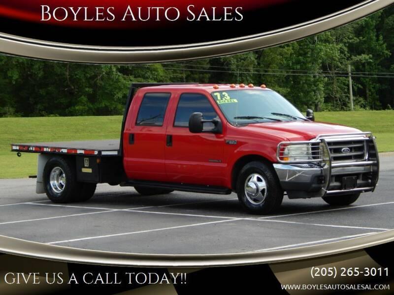 2002 Ford F-350 Super Duty for sale at Boyles Auto Sales in Jasper AL