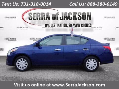 2019 Nissan Versa for sale at Serra Of Jackson in Jackson TN