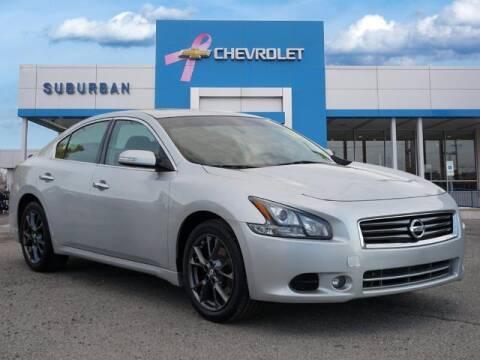 2012 Nissan Maxima for sale at Suburban Chevrolet of Ann Arbor in Ann Arbor MI