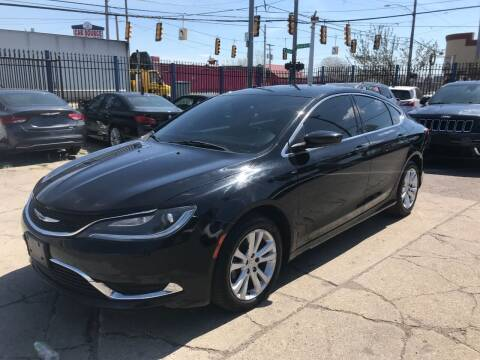 2015 Chrysler 200 for sale at SKYLINE AUTO in Detroit MI