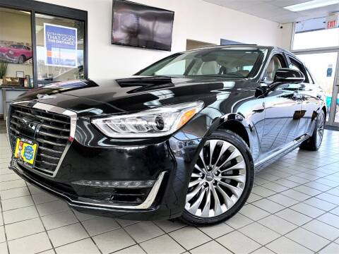 2017 Genesis G90 for sale at SAINT CHARLES MOTORCARS in Saint Charles IL