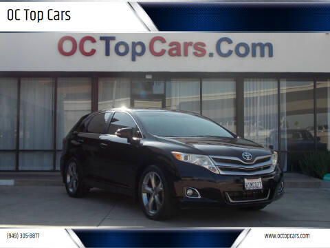 2015 Toyota Venza for sale at OC Top Cars in Irvine CA