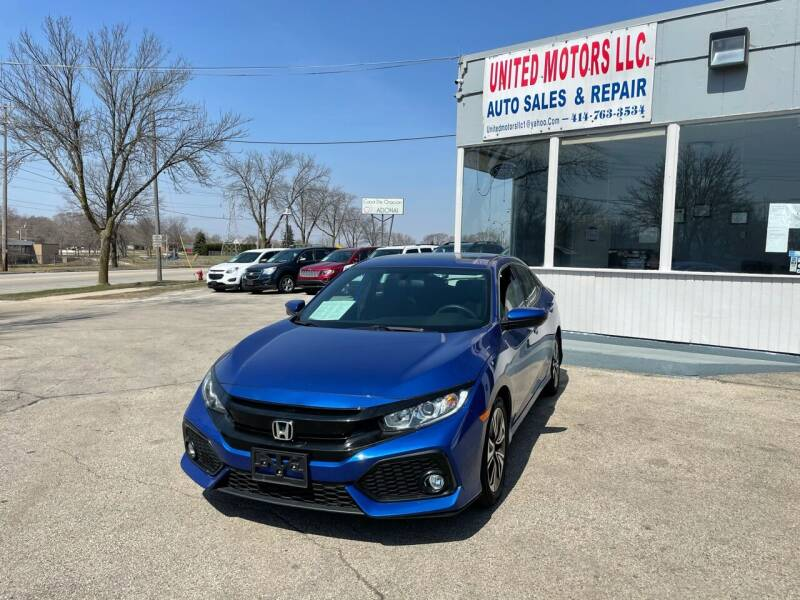 2017 Honda Civic for sale at United Motors LLC in Saint Francis WI