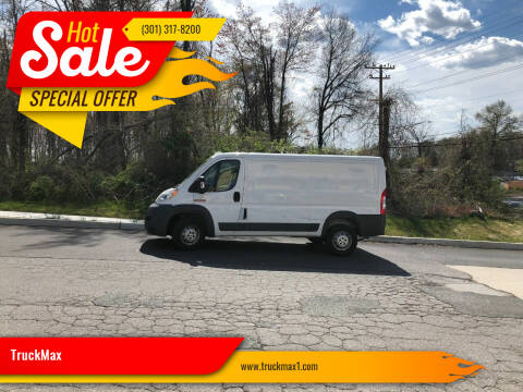 2015 RAM ProMaster Cargo for sale at TruckMax in Laurel MD