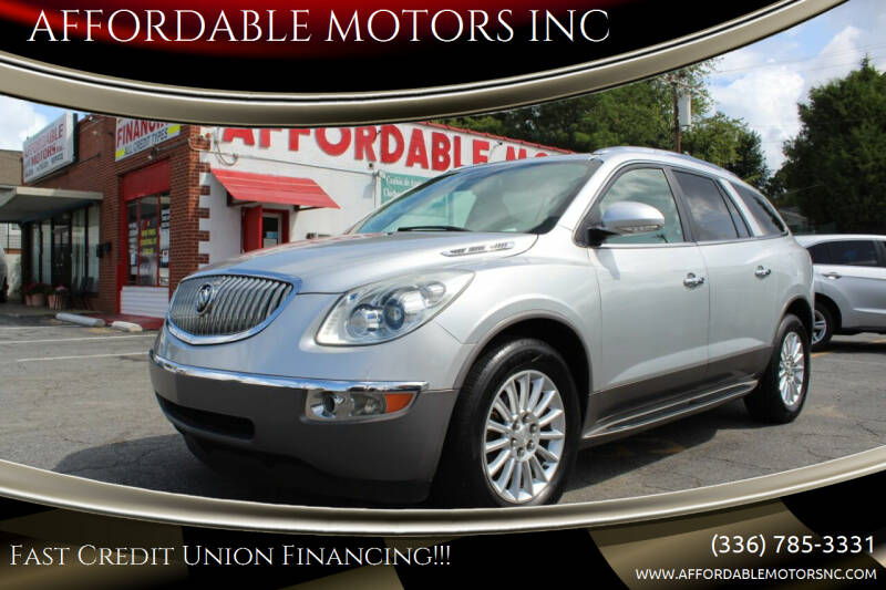 2012 Buick Enclave for sale at AFFORDABLE MOTORS INC in Winston Salem NC