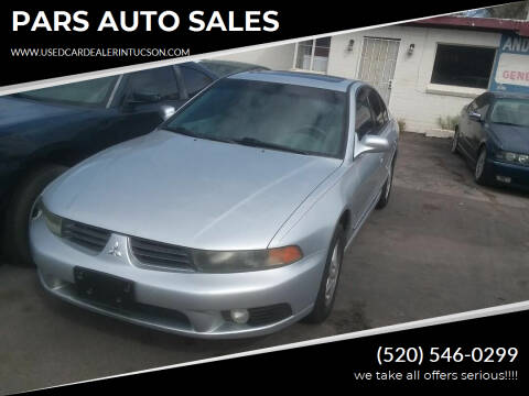 2003 Mitsubishi Galant for sale at PARS AUTO SALES in Tucson AZ