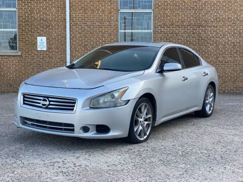 2012 Nissan Maxima for sale at Auto Start in Oklahoma City OK