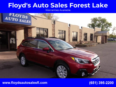 2019 Subaru Outback for sale at Floyd's Auto Sales Forest Lake in Forest Lake MN