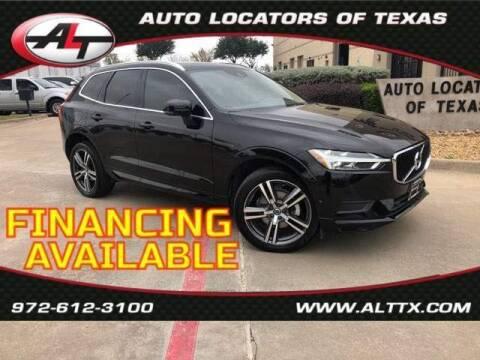 2018 Volvo XC60 for sale at AUTO LOCATORS OF TEXAS in Plano TX