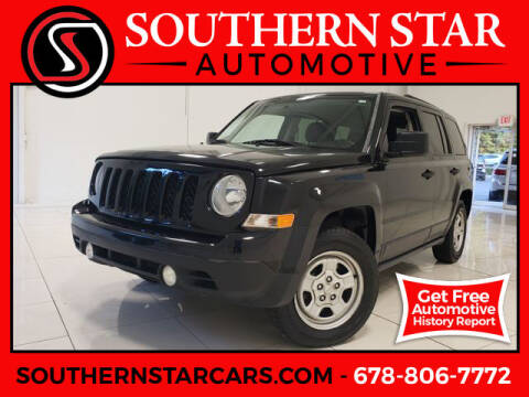 2014 Jeep Patriot for sale at Southern Star Automotive, Inc. in Duluth GA