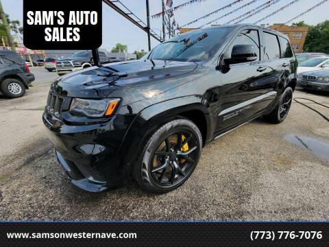 2018 Jeep Grand Cherokee for sale at SAM'S AUTO SALES in Chicago IL