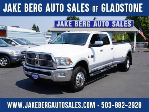 2012 RAM Ram Pickup 3500 for sale at Jake Berg Auto Sales in Gladstone OR
