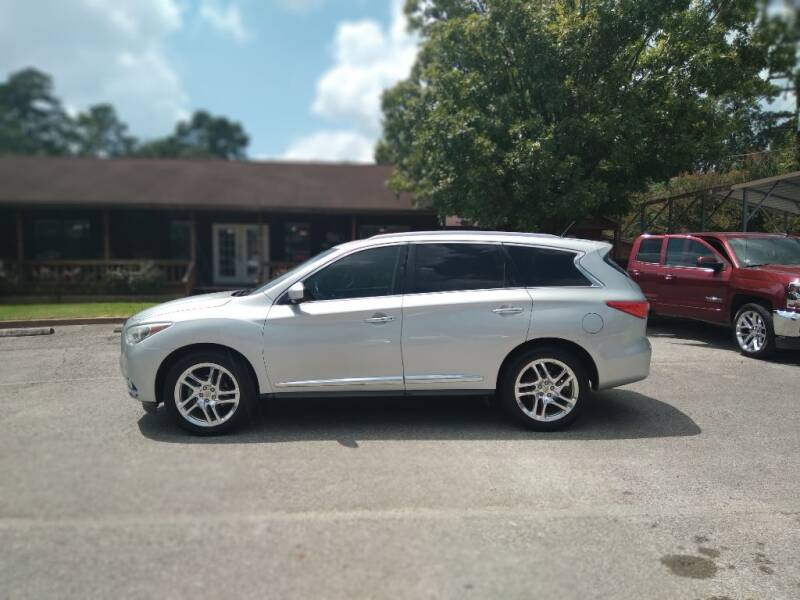2013 Infiniti JX35 for sale at Victory Motor Company in Conroe TX