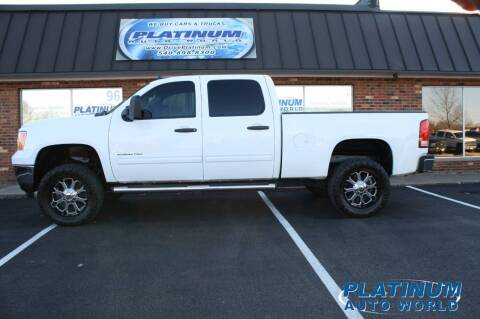 2012 GMC Sierra 2500HD for sale at Platinum Auto World in Fredericksburg VA