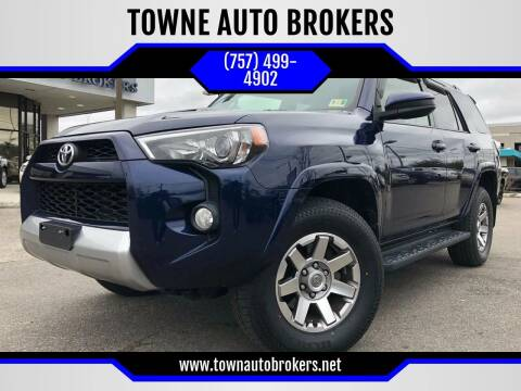 2014 Toyota 4Runner for sale at TOWNE AUTO BROKERS in Virginia Beach VA