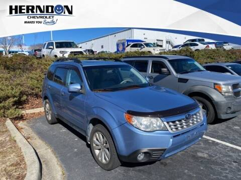 2011 Subaru Forester for sale at Herndon Chevrolet in Lexington SC