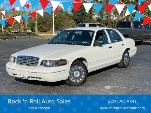 2005 Ford Crown Victoria for sale at Rock 'n Roll Auto Sales in West Columbia SC