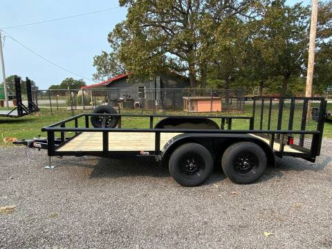 "2020 HD Trailer 83""x14' 3500lb Tandem Axles for sale at TINKER MOTOR COMPANY in Indianola OK"